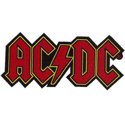 AC/DC - Logo Cut-out
