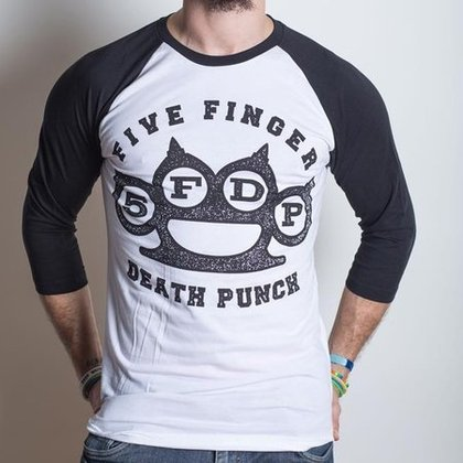 Five Finger Death Punch - Knuckles / Baseball Shirt