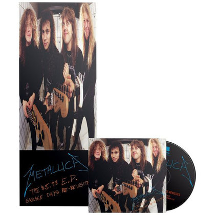 Metallica - The 5.98 E.P. - Garage Days Re-Revisited