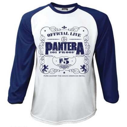 Pantera - 101 Proof / Baseball Shirt