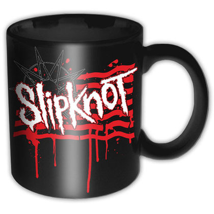 Slipknot - Dripping Flag & Logo