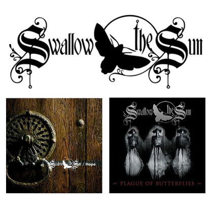 Swallow The Sun - Hope / Plague Of Butterflies (Galaxy Editions)